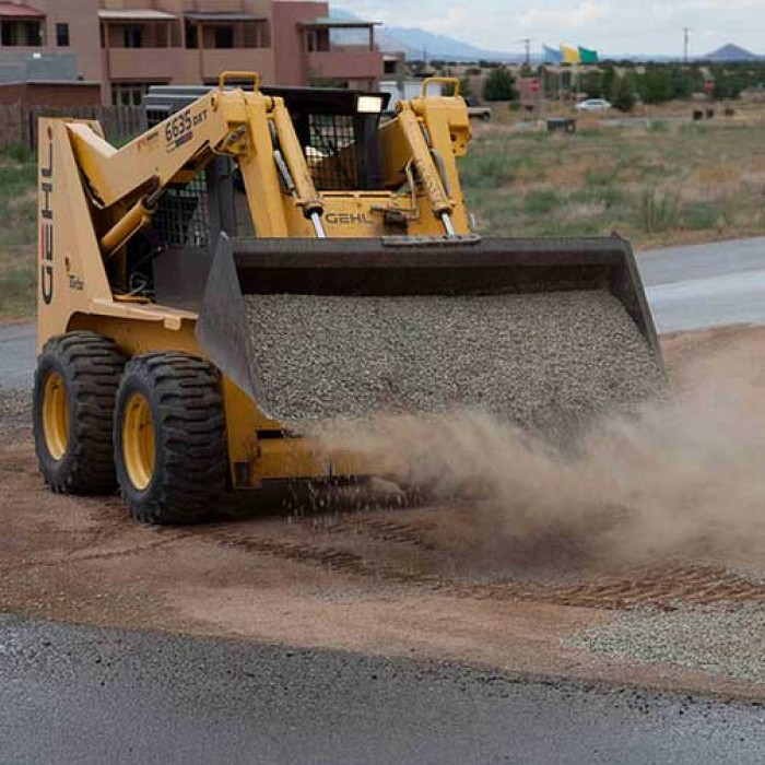 Placement by Skid-steer